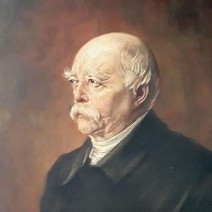 Gemälde Bismarck: Getreuenmuseum.