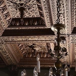 Renaissancedecke im Audienzsaal: Schlossmuseum Jever.