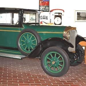 Oldtimer Hansa Automobile. Heimatmuseum Varel.